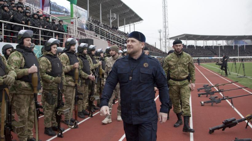 Ramzam Kadyrov Presidente De Chechenia Y Heroe De Rusia