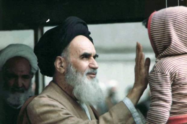 بچه_و_خمینی