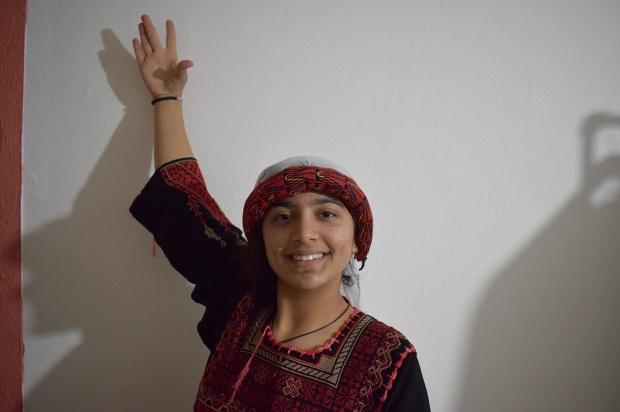 Palestinian member of El Kufiyeh
