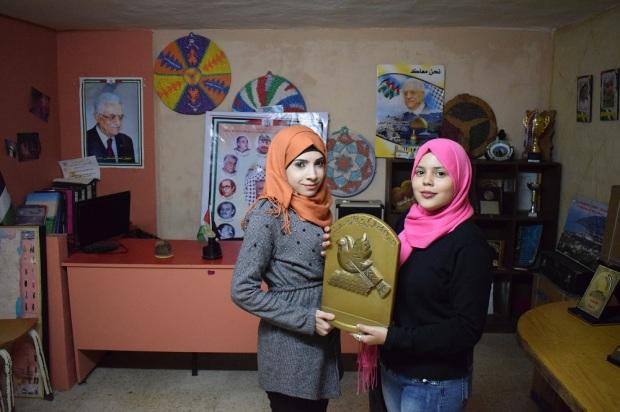Sali Al Hassan y Fatima el Issa